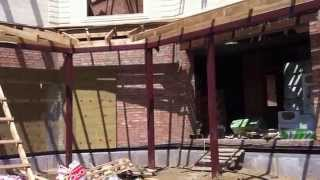видео Облицовка дома дагестанским натуральным