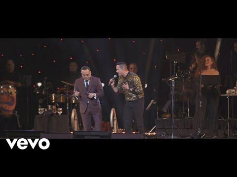 Gilberto Santa Rosa - Salsa Pa' Olvidar las Penas (En Vivo) ft. Víctor Manuelle