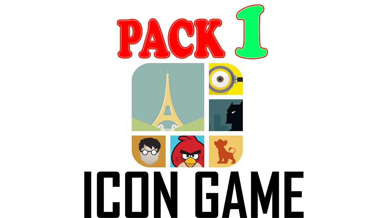 Icon Game Pack 1 – All Answers – Walkthrough