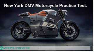 New york state dmv motorcycle permit practice test