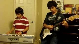 Coldplay Clocks Guitar and Piano