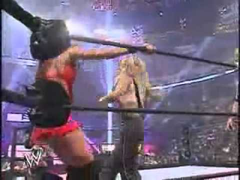 Wrestlemania 21 Christy Hemme vs Trish Stratus Womens Championship