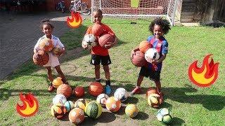 Twin vs Twin Play Multiball football Challenge!