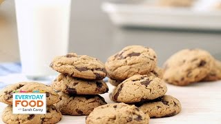 Peanut Butter Chocolate Chunk Cookies - Everyday Food With Sarah Carey