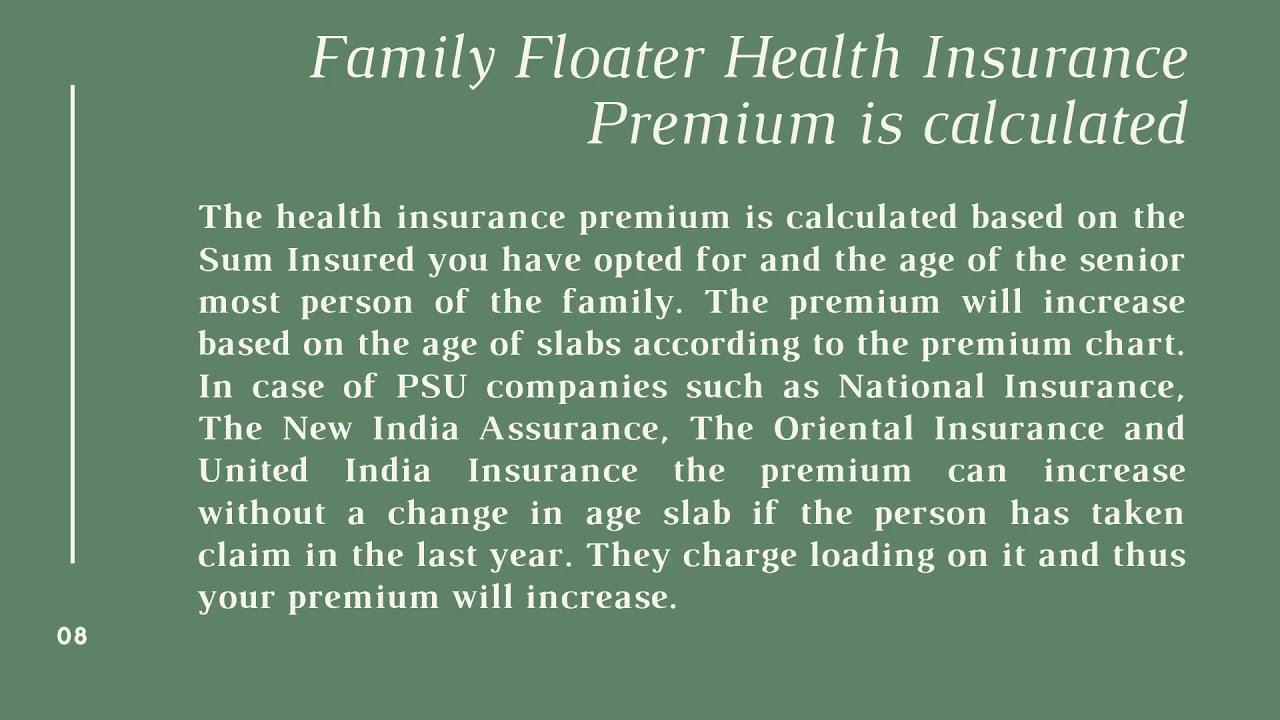 Family Floater Health Insurance - YouTube