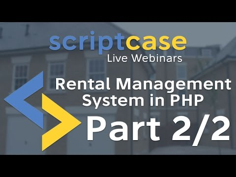 Rental Management System in PHP (Part 2/2)
