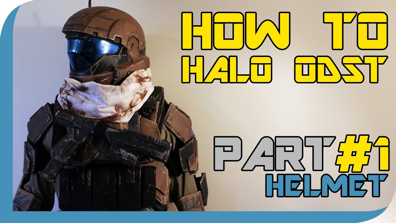 how to halo reach odst costume part 1 helmet youtube - Halo Reach Halloween Costume