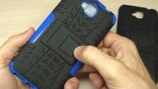 Бампер для Huawei Y6 Pro ARMOR обзор