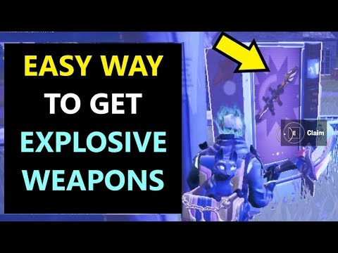 Explosive Weapon Eliminations ( Fortnite Season 10 Week 7 Summer Slurp Challenges)