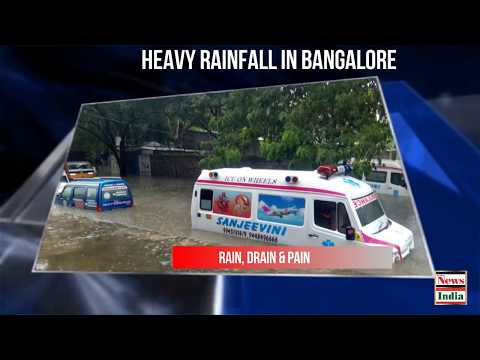 Heavy rainfall in Bangalore