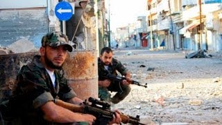 On the Syrian frontline