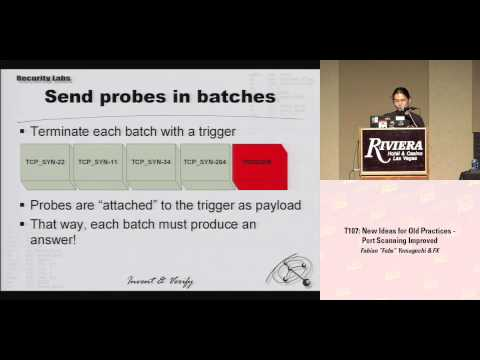 """DEF CON 16 - Fabian """"Fabs"""" Yamaguchi & FX: New ideas for old practices - Port-Scanning improved"""