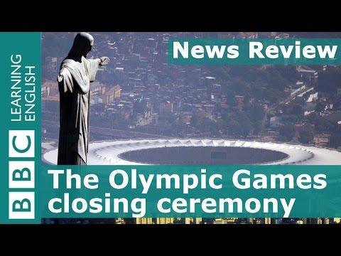 BBC News Review: Olympics closing ceremony