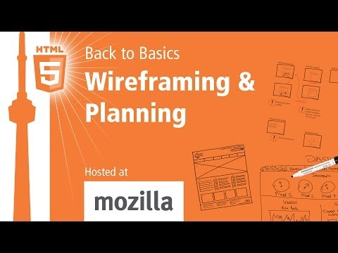 Back to Basics — Wireframing & Planning