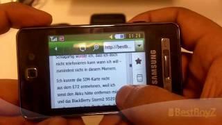 (HD) Review / Vorstellung: Samsung SGH-F480i  BestBoyZ