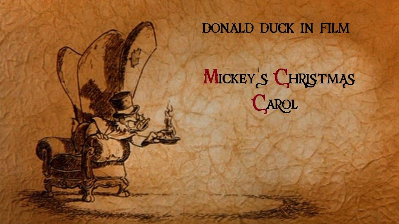donald duck in film mickeys christmas carol - Mickey Christmas Carol