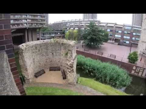 Barbican Estate And Centre, London 4k July 2019