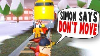 YOUTUBER ONLY SIMON SAYS IN JAILBREAK!! (Roblox)