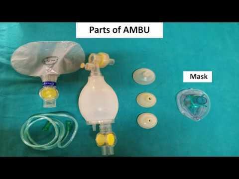 Artificial Manual Breathing Unit | AMBU | Pediatrics Instruments