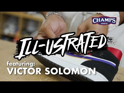 Illustrated Episode 8 Featuring Victor Solomon and the