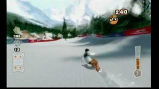 Shaun White Snowboarding - Road Trip! - Wii Balance Board TM Rule The Rails Controls
