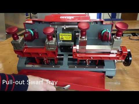 Mortice & Cylinder Key Cutting Machine