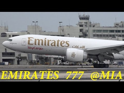 Emirates 777F @Miami Intl +More  03/28/2015