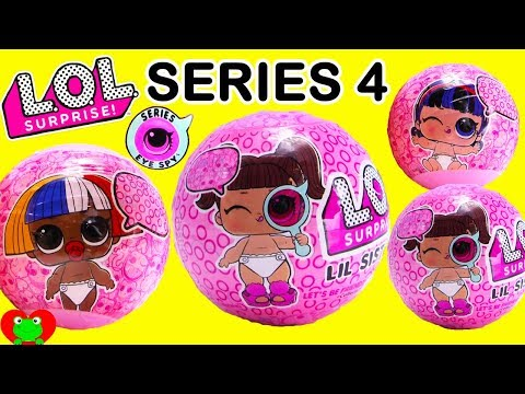 LOL Surprise Lil Sisters Series 4 Eye Spy Decoder Ultra Rare Hunt