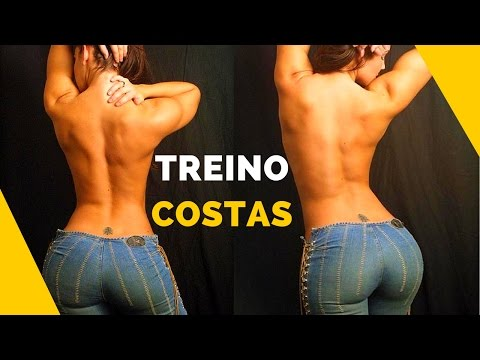 TREINO COSTAS 👉10 Exercícios Para Deixar Suas Costas SEXY! Treino Costas Feminino Para Academia!