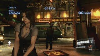 Resident Evil 6 Mercenaries - Urban Chaos - Helena1 - S rank