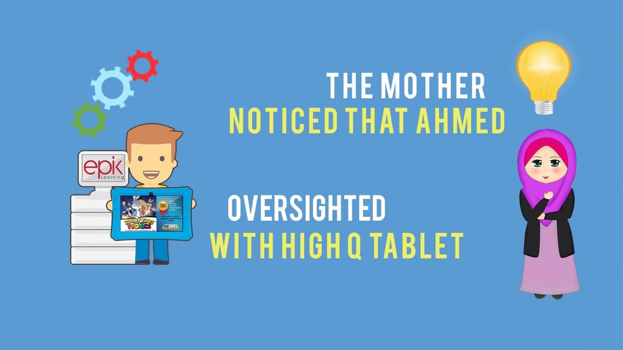 Example Video Animated - Epik High Q Edu Tablet
