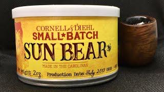 Обзор трубочного табака Cornell & Diehl   Sun Bear Small Batch