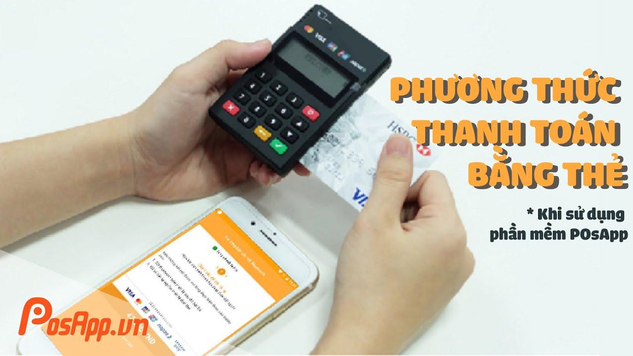 Giải pháp máy quẹt thẻ nhỏ gọn sử dụng máy POS cầm tay
