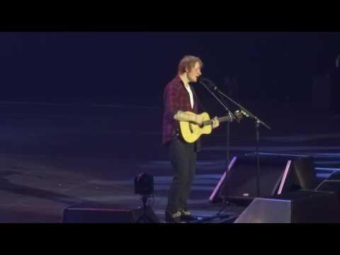 Ed Sheeran - Photograph & Afire Love @ The O2 Arena, London 15/10/14