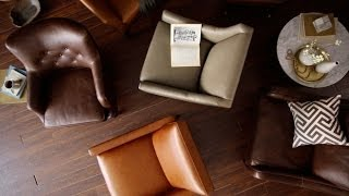 How To Choose Leather Furniture | west elm(Choosing new leather furniture? You need to learn how to decipher the language of leather! Discover the difference between different dying techniques and ..., 2014-07-02T14:09:33.000Z)