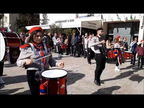 ARMENIAN SCOUT JERUSALEM 24 DECEMBER 2019 CHRISTMAS CHRISTIAN LAND SAINT JOHNNY