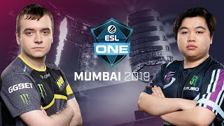 Keen Gaming vs. Natus Vincere  - Game 2 - UB Semi - ESL One Mumbai 2019