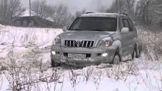 Kia Sportage, Toyta Land Kruser Prado,  Нива, Уаз Patriot...по снегу