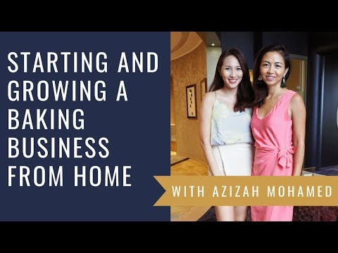 MomBoss Spotlight #18: How To Start And Grow A Baking Business From Home With Azizah Mohamed