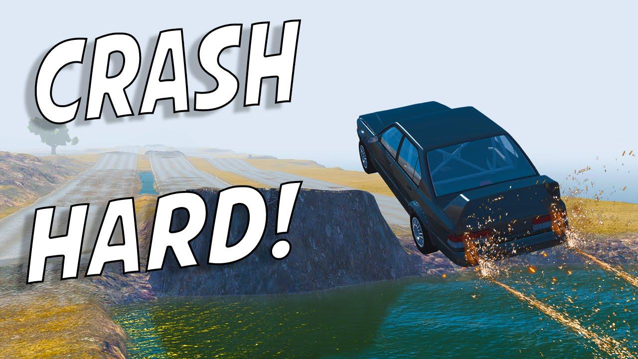 beamng drive crash hard map download