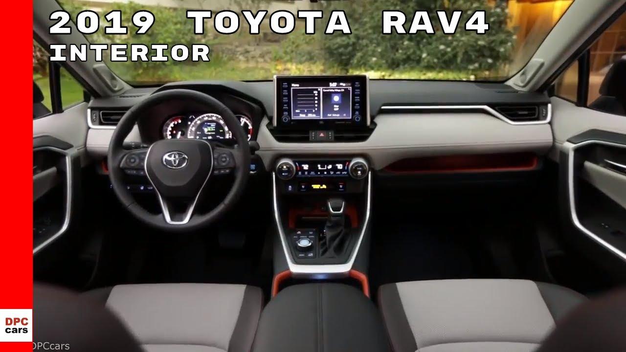 2019 Toyota Rav4 Interior Youtube