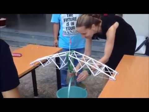 Как построить мост из бумаги