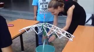 як зробити міст з картону