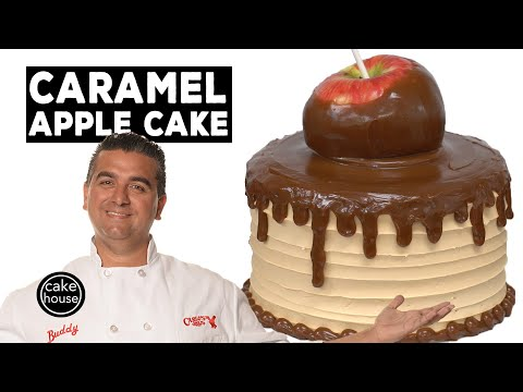 The Cake Boss's Gooey Caramel Apple Cake | Fast Cakes Ep07