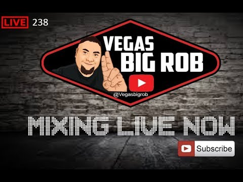 Vegas Big Rob mixing live - playing the best classic house music flashbacks and oldschool music