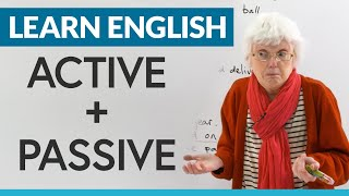 Learn English Grammar: What's the difference between ACTIVE & PASSIVE?