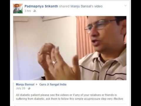 Diabetics Acupressure Cure