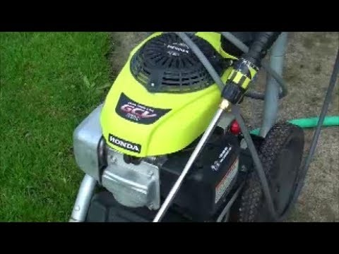 HOW TO FIX a Honda GCV 160 ENGINE RYOBI pressure washer that is HARD to START after STORAGE.