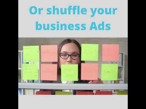 Dont  shuffle Your business ads
