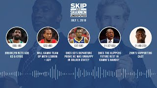 UNDISPUTED Audio Podcast (7.1.19) with Skip Bayless & Shannon Sharpe | UNDISPUTED
